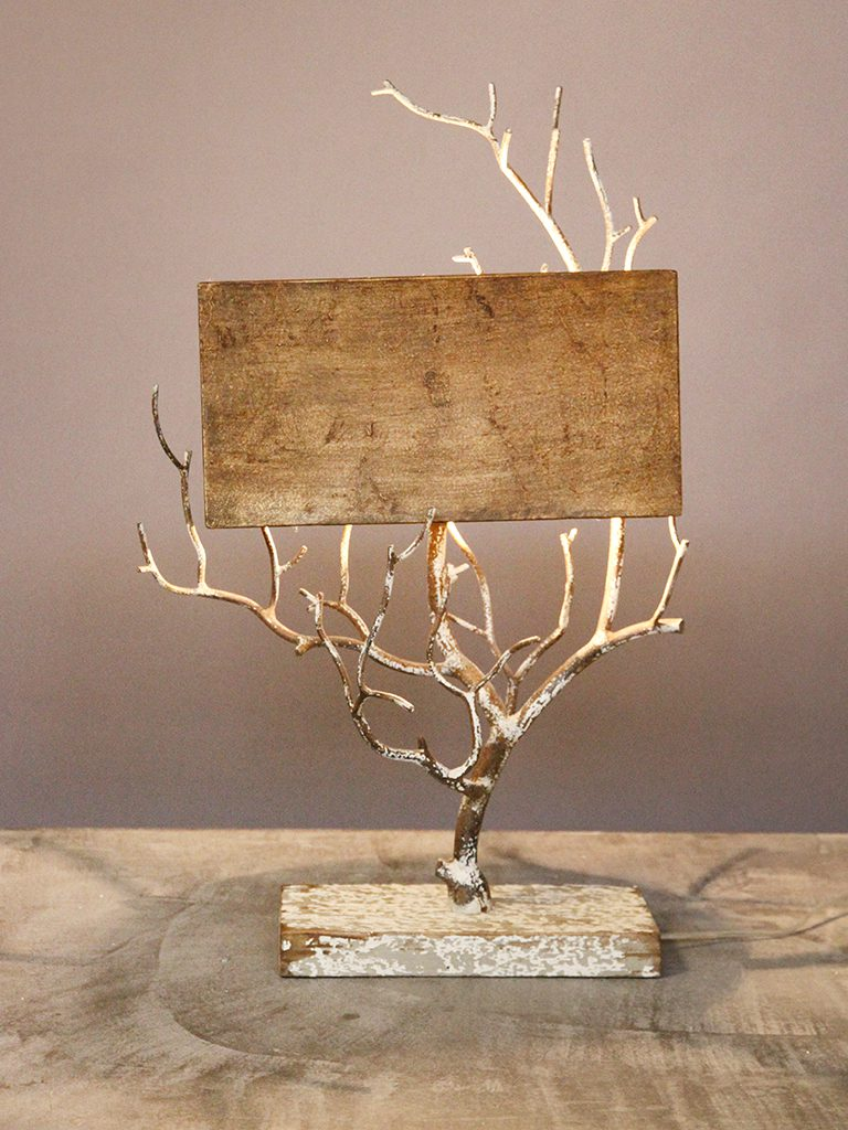 Table Lamp Branches With Shade 18182 Chehoma